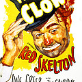 The Clown, Red Skelton, 1953 Print by Everett