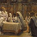 The Communion of the Apostles Poster by Tissot