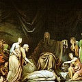 The Court of Death Poster by Rembrandt Peale