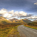 The Cuillin Mountains of Skye Poster by Chris Thaxter