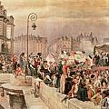 The Departure of the Volunteers 1792 Print by Jean Baptiste Edouard Detaille