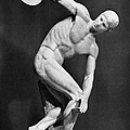 THE DISCOBOLUS, 450.B.C Poster by Granger