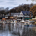 The Docks at Boathouse Row - Philadelphia Print by Bill Cannon