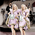 The Dolly Sisters, From Left Betty Poster by Everett