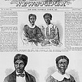 The Dred Scott Family On The Front Page Print by Everett