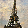 The Eiffel Tower Print by Laurie Search
