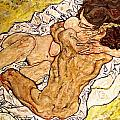 The Embrace Poster by Egon Schiele