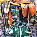 The English Saddle Print by Paul Ward