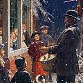 The Entertainer  Print by Percy Tarrant