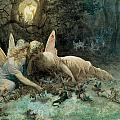 The Fairies  Poster by Gustave Dore