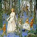 The Fairy Wood Poster by Henry Meynell Rheam