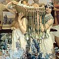 The Finding of Moses by Pharaoh's Daughter Print by Sir Lawrence Alma-Tadema