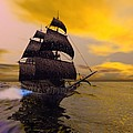THE FLYING DUTCHMAN Print by Corey Ford