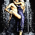 The Fountain of Tango Poster by Richard Young
