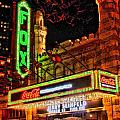 The Fox Theater Atlanta Ga. Poster by Corky Willis Atlanta Photography