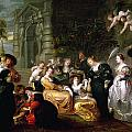 The Garden of Love Print by Peter Paul Rubens