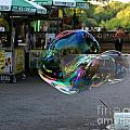 The Giant Bubble at Bethesda Terrace Print by Lee Dos Santos