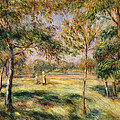 The Glade Print by Pierre Auguste Renoir