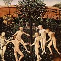 The Golden Age Print by Lucas Cranach