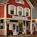 The Grafton Vermont Village Store Print by Thomas Schoeller