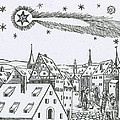 The Great Comet Of 1556 Poster by Science Source