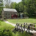 The Grist Mill Print by Lee Fortier