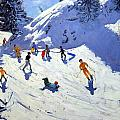 The Gully Print by Andrew Macara
