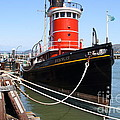 The Hercules . A 1907 Steam Tug Boat At The Hyde Street Pier in San Francisco California . 7D14137 Poster by Wingsdomain Art and Photography