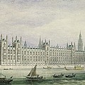 The Houses of Parliament Print by Thomas Hosmer Shepherd
