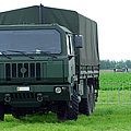 The Iveco M250 8 Ton Truck Poster by Luc De Jaeger