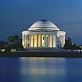 The Jefferson Memorial Print by Peter Newark American Pictures