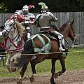 The Joust I Print by Charles Warren