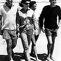 The Kennedys, Robert, Jackie, Ethel Print by Everett
