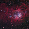 The Lagoon Nebula Poster by Robert Gendler
