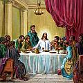 The Last Supper Poster by John Lautermilch