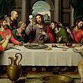 The Last Supper Poster by Vicente Juan Macip