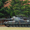 The Leopard 1a5 Main Battle Tank In Use Print by Luc De Jaeger