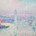 The Lighthouse at Antibes Print by Paul Signac