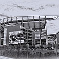 The Linc - Philadelphia Eagles Print by Bill Cannon