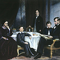 THE LINCOLN FAMILY Poster by Granger