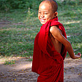 The little monk of Mingun Poster by RicardMN Photography