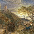 The Lonely Tower Print by Samuel Palmer