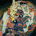 The Maiden Poster by Gustav Klimt