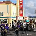 The Marching Band at The Uptown Theater in Napa California . 7D8925 Print by Wingsdomain Art and Photography