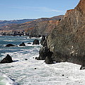 The Marin Headlands - California Shoreline - 5D19692 Print by Wingsdomain Art and Photography