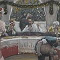 The Meal in the House of the Pharisee Poster by Tissot