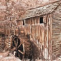 The Mill at Cade's Cove Poster by Debra and Dave Vanderlaan