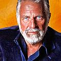 The Most Interesting Man in the World II Print by Debora Cardaci