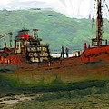 The old fishing trawler Poster by Stefan Kuhn