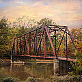The Old Iron Bridge Print by Jai Johnson